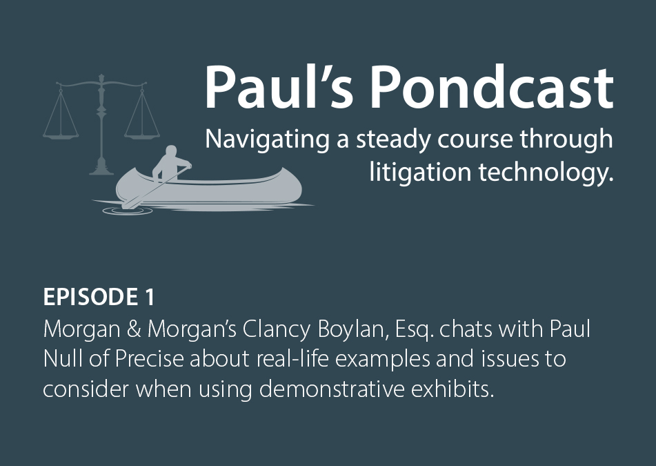 Paul's Pondcast Episode 1 With Guest Clancy Boyland, Esq.