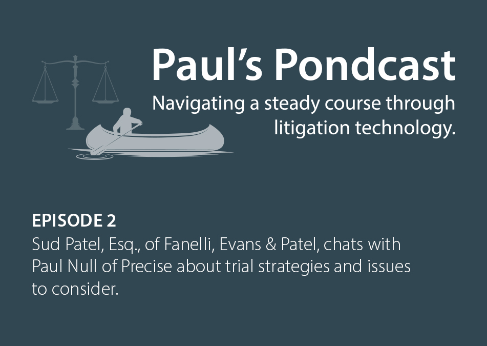 Paul's Pondcast Episode 2 With Guest Sud Patel, Esq.
