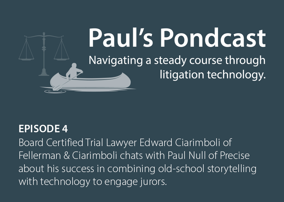 Paul's Pondcast Episode 4 With Guest Edward Ciarimboli, Esq.